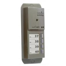 VIZIT-405CP-4 Блок вызова домофона на 4 абонента