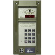 Блок вызова домофона VIZIT БВД-N101RTCP